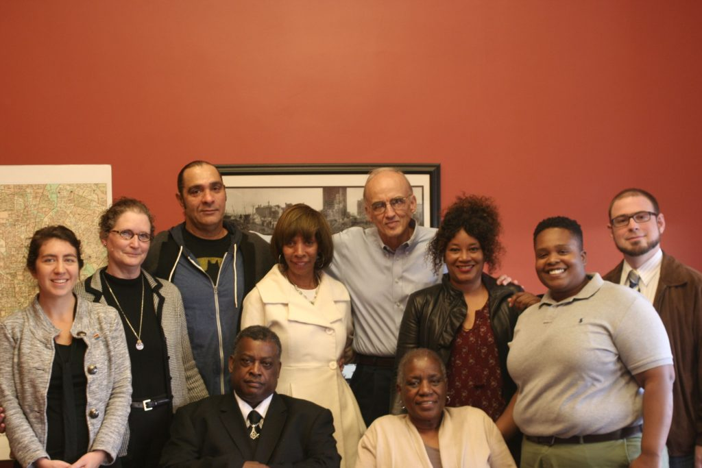 Meeting with Mayor-elect Pugh